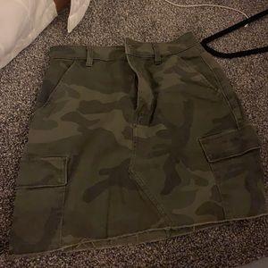 Hollister camo skirt